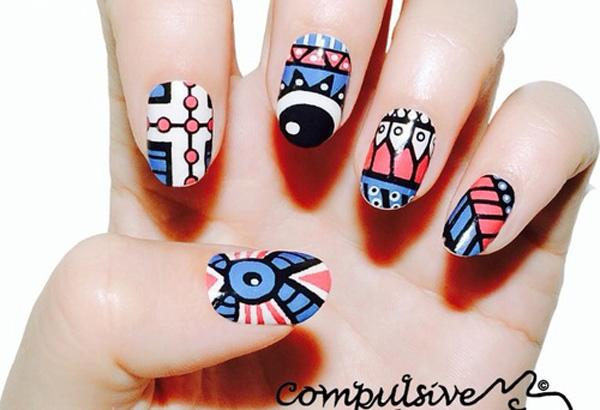 tribal nails-15