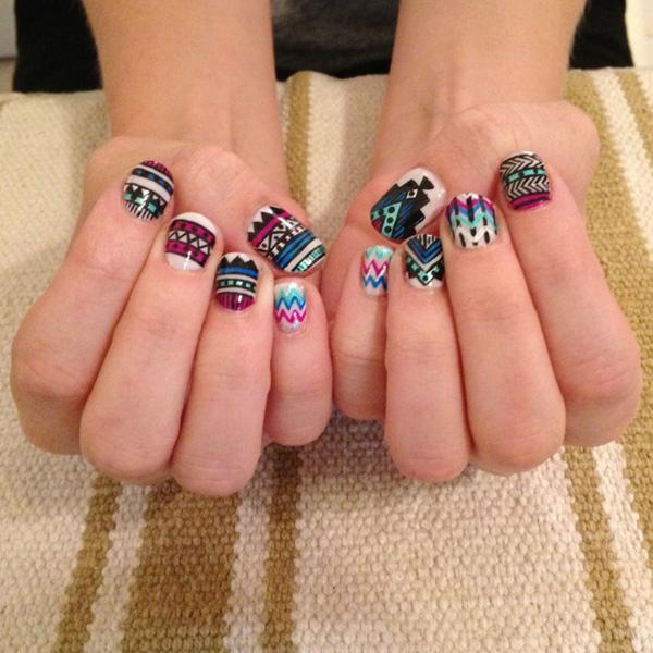 tribal nails-16