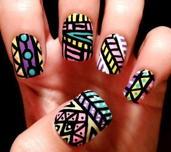 tribal nails-17