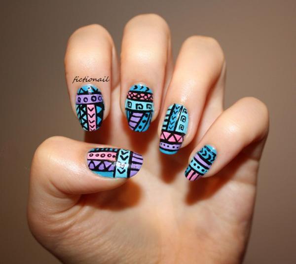tribal nails-19