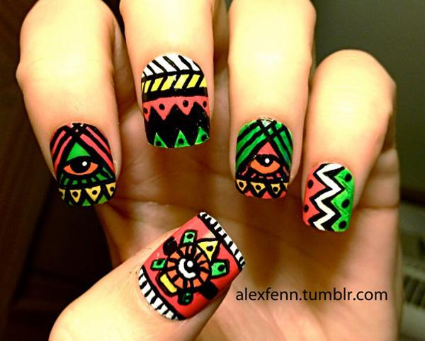 tribal nails-20