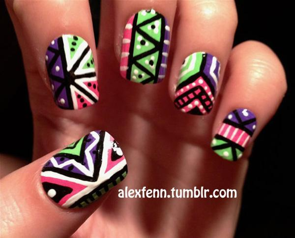 tribal nails-23