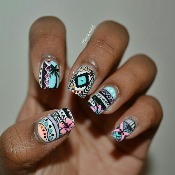 tribal nails-25