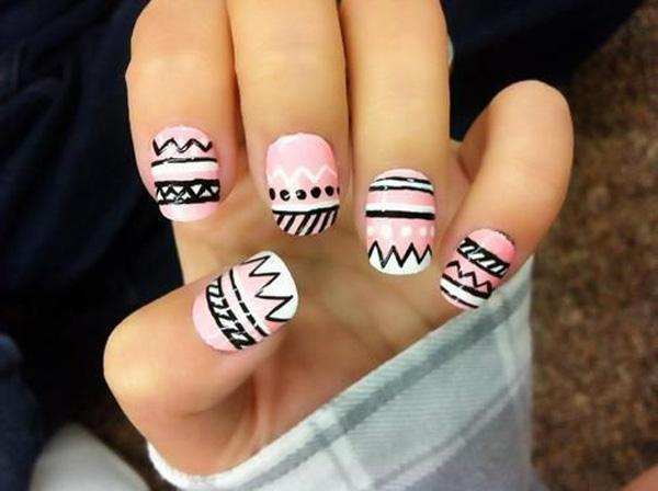 tribal nails-26