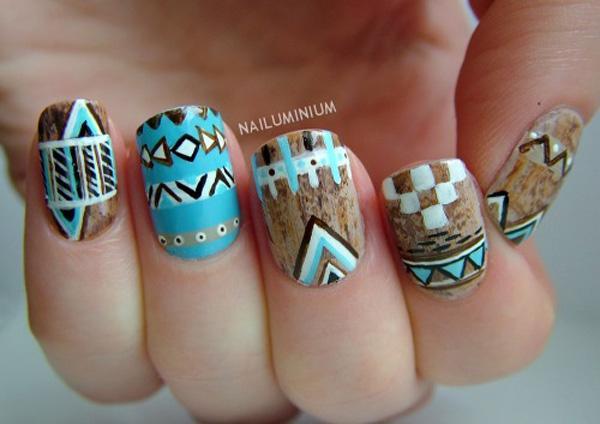 tribal nails-28