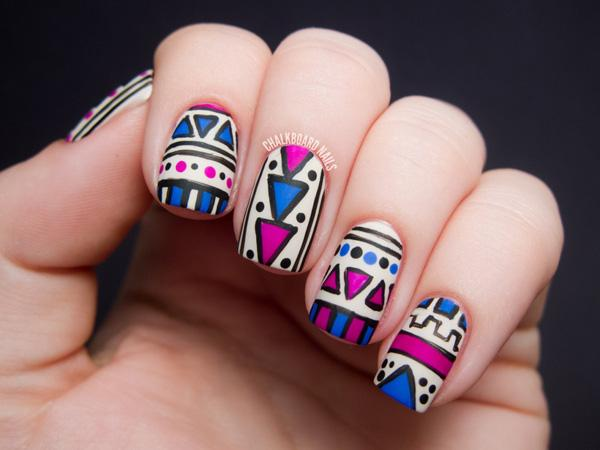 tribal nails-31