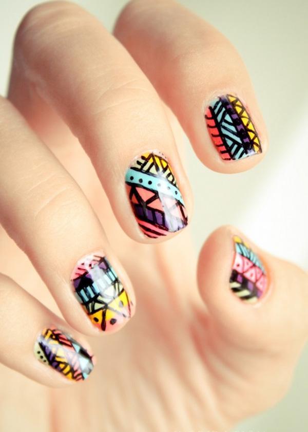tribal nails-33