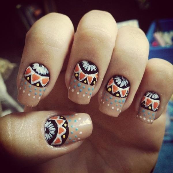 tribal nails-35