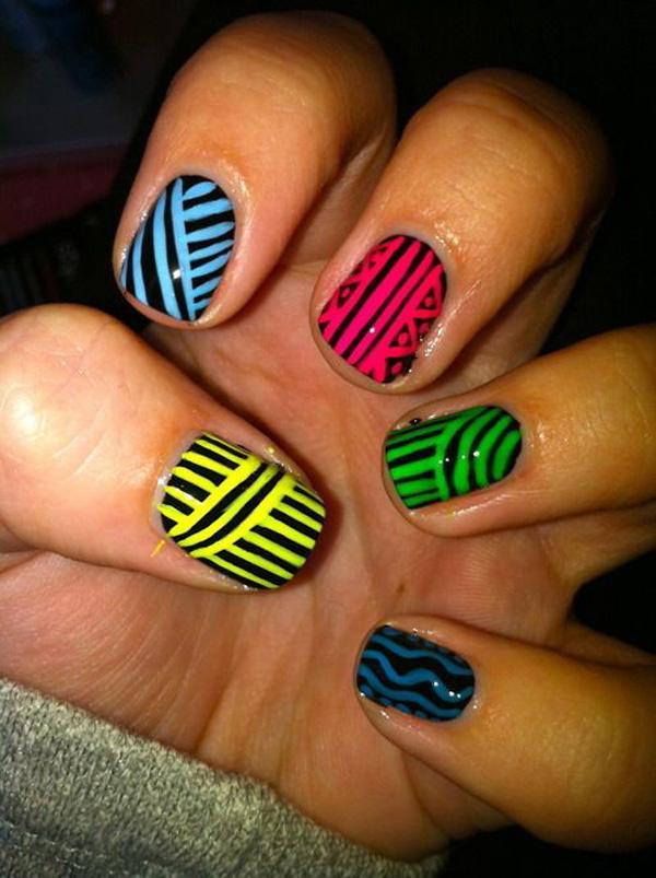 tribal nails-36