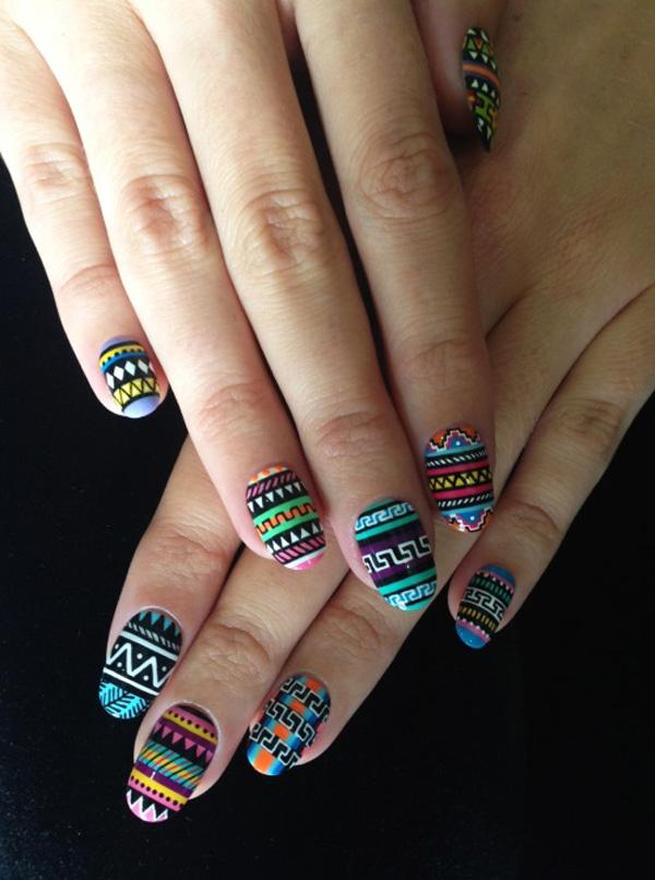 tribal nails-38