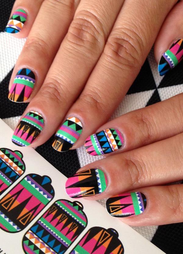 tribal nails-39