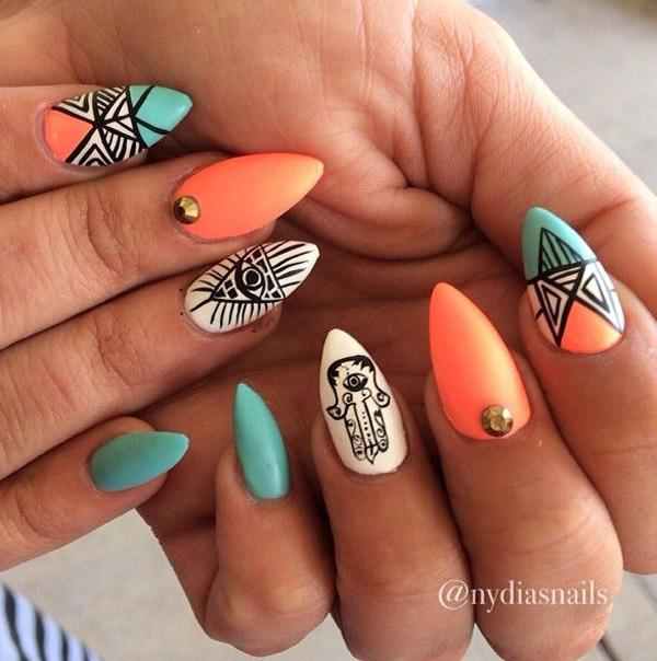 tribal nails-4