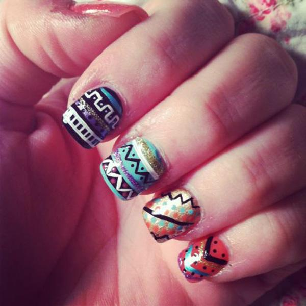 tribal nails-41