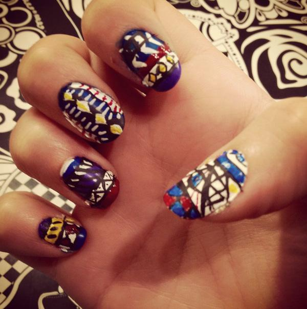 tribal nails-42