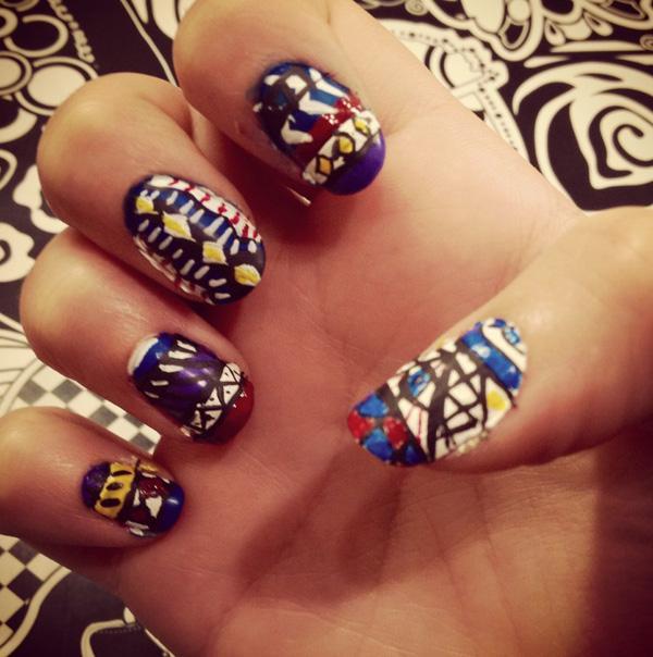 tribal nails-42