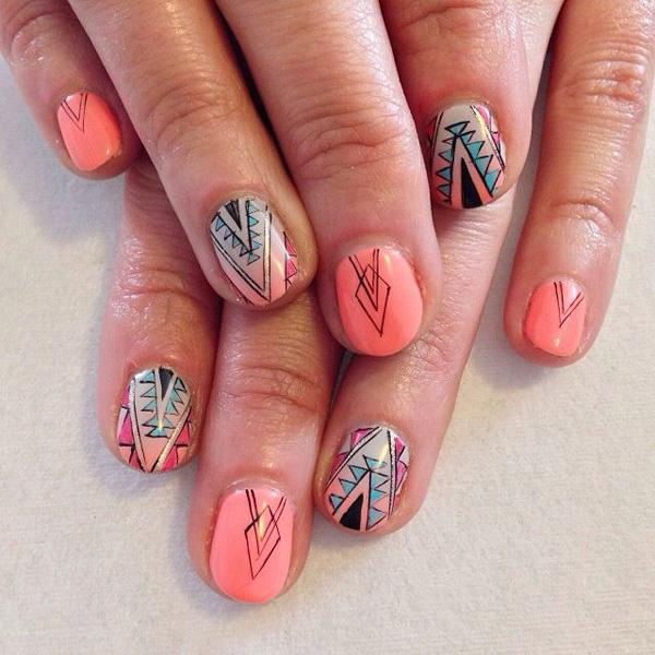 tribal nails-43
