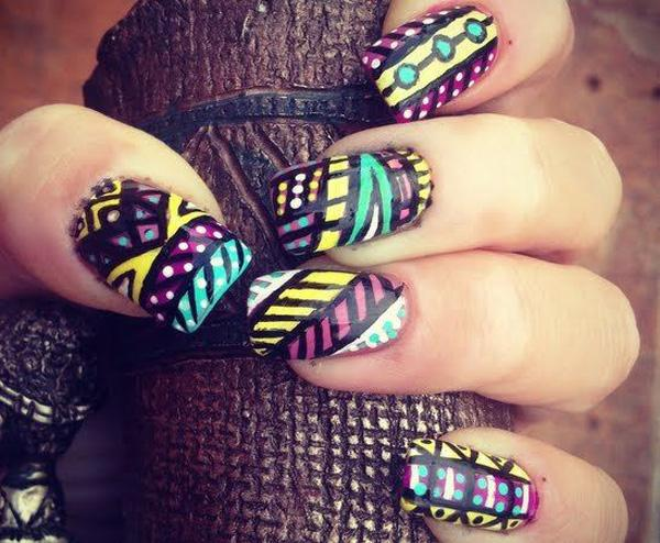 tribal nails-44