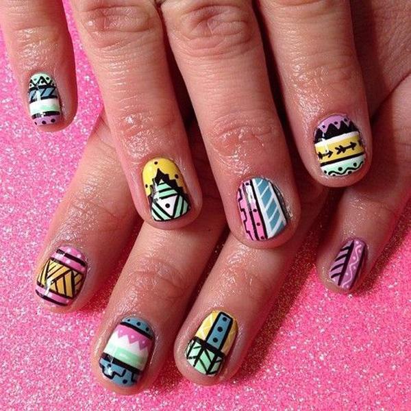 tribal nails-46