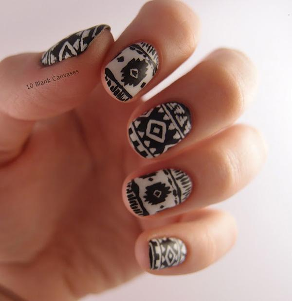 tribal nails-48