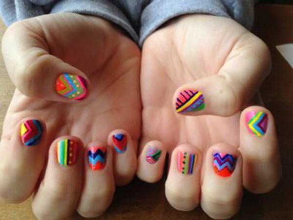 tribal nails-50