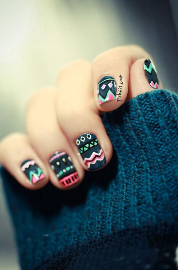 tribal nails-52