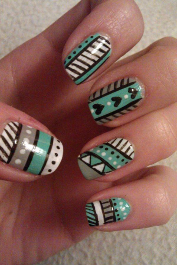 tribal nails-53