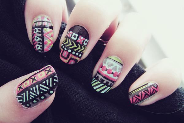 tribal nails-60