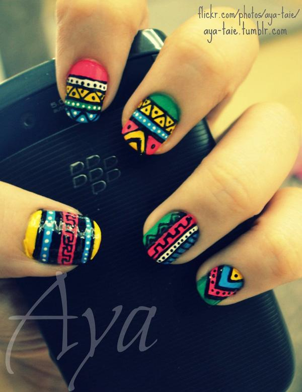 tribal nails-61