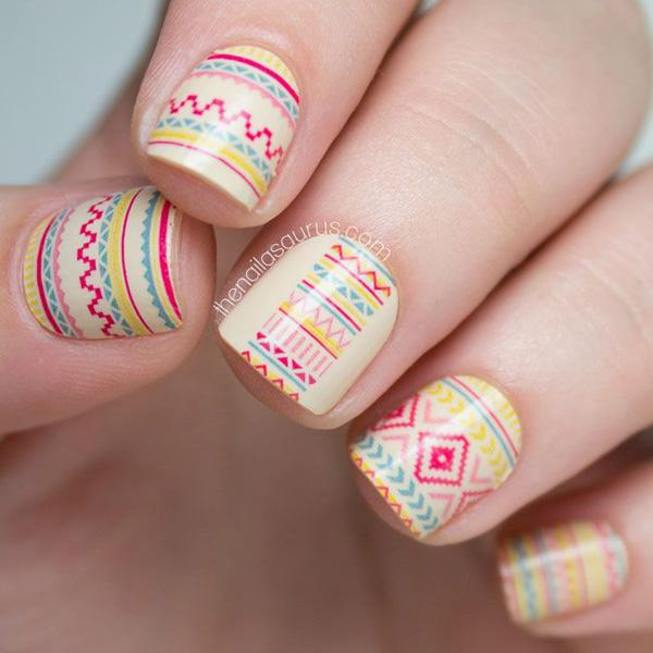 tribal nails-65