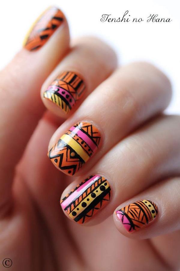 tribal nails-8
