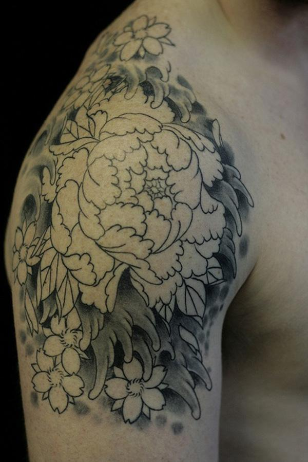10 Peony tattoo