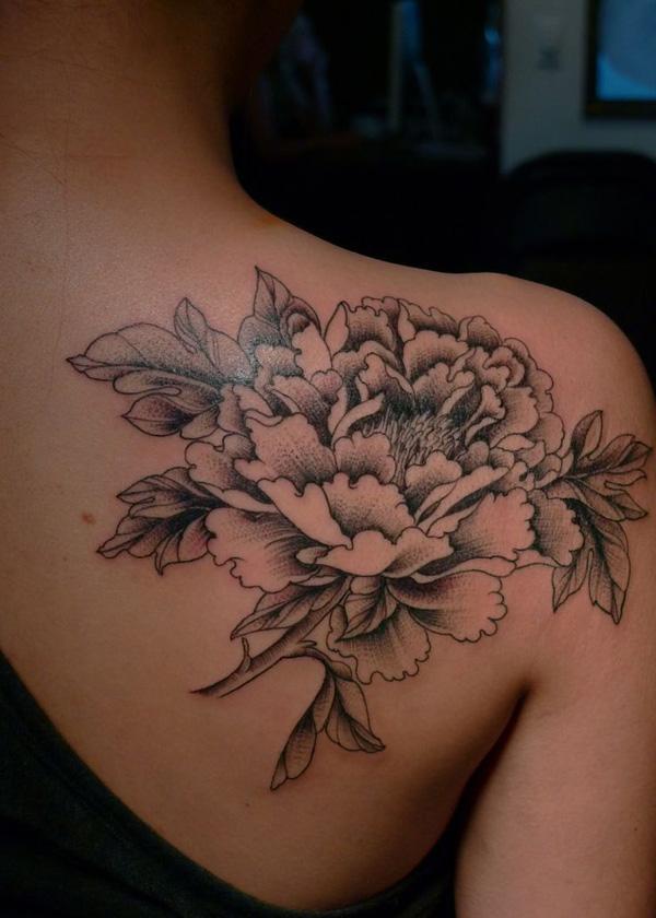 15 Peony tattoo