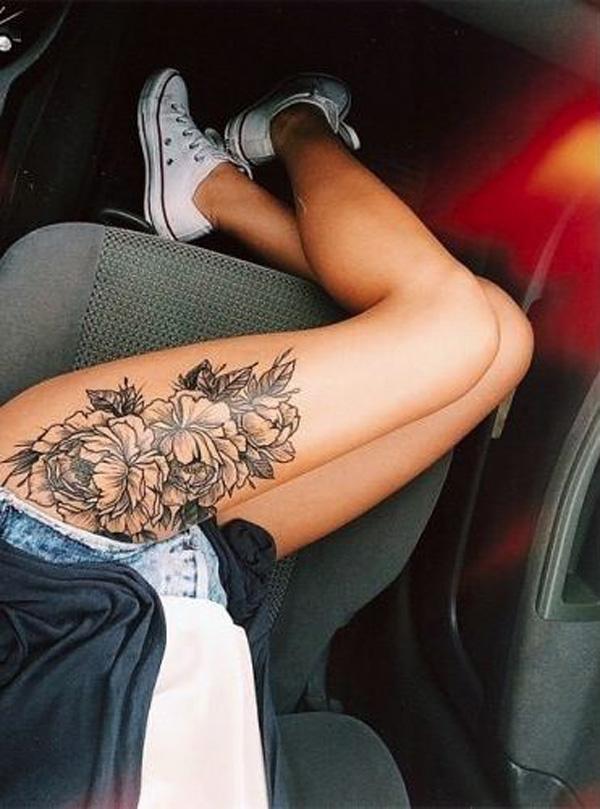 16 Peony tattoo