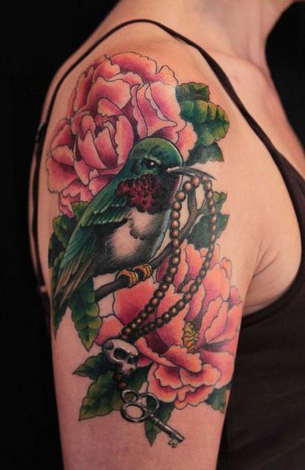 19 Peony tattoo