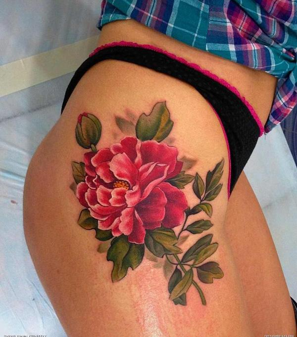 50 Peony Tattoo Designs And Meanings Art And Design