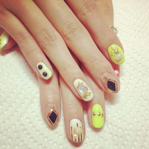 22 japanese nail art