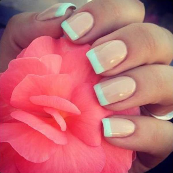 23 French Manicure for Spring