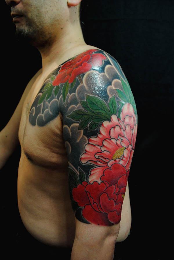 24 Peony tattoo
