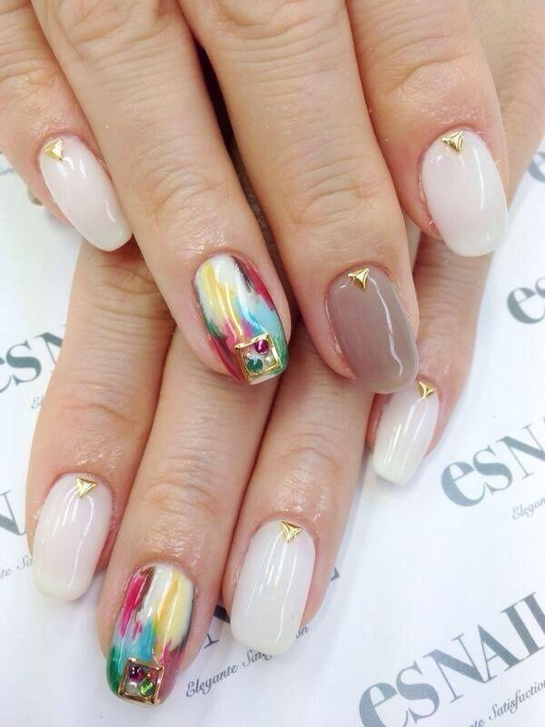 In case you're looking for an elegant and formal nail art design then you  ... - 65 Japanese Nail Art Designs Art And Design