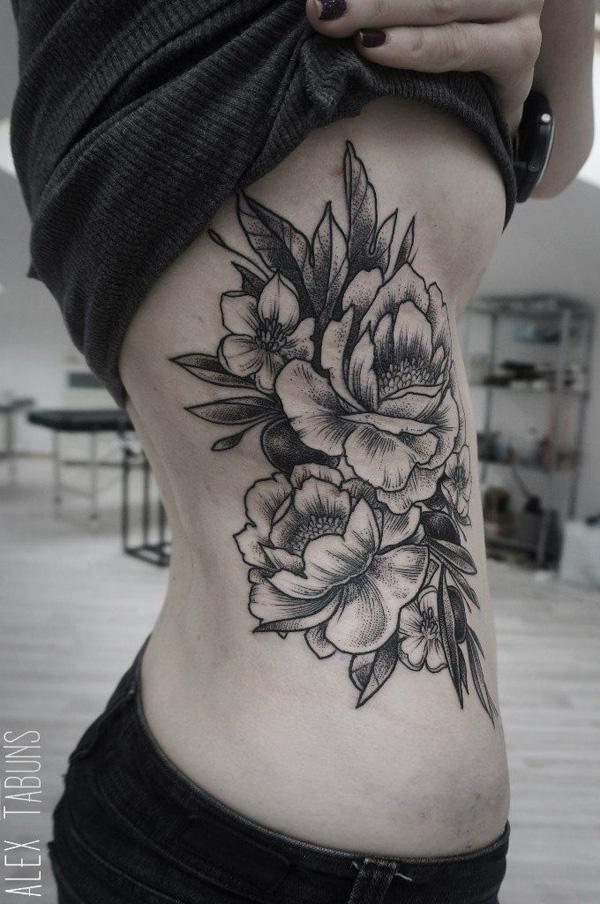 42 Peony tattoo