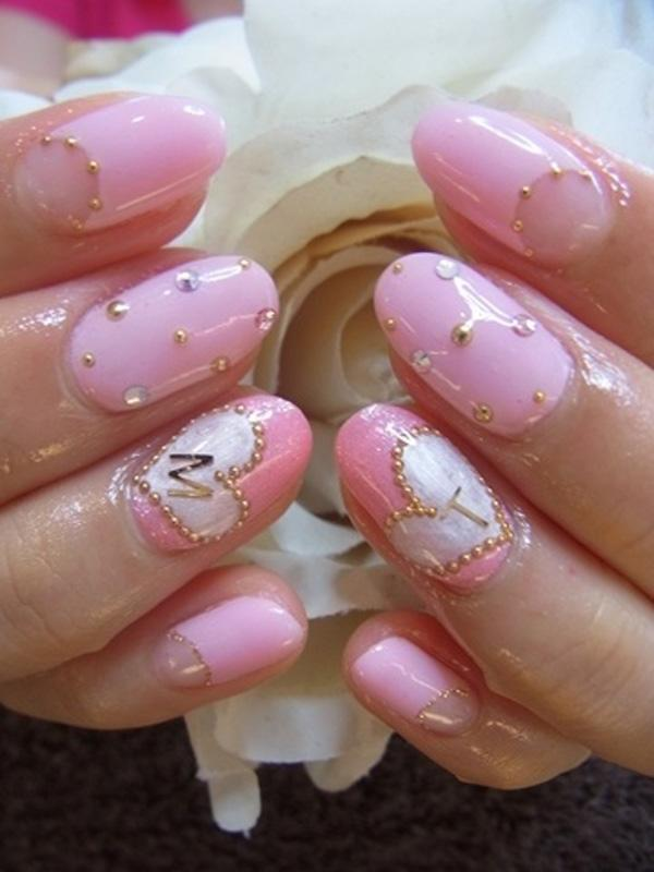 51 Pretty Pink Elegant Japanese Nail Art Manicure