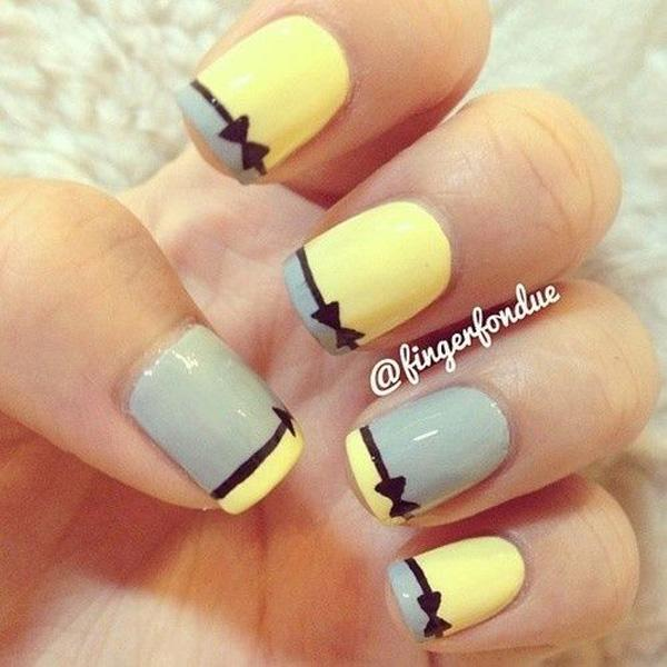 Delightful Looking French Tips