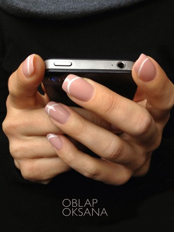 66 French Manicure