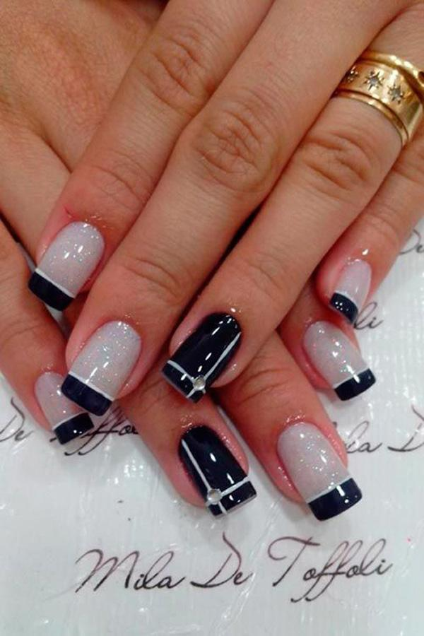 Molto 70 Ideas of French Manicure | Art and Design RT01