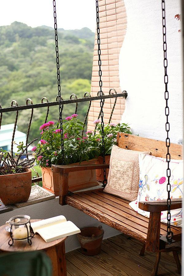 55 apartment balcony decorating ideas art and design for On our balcony