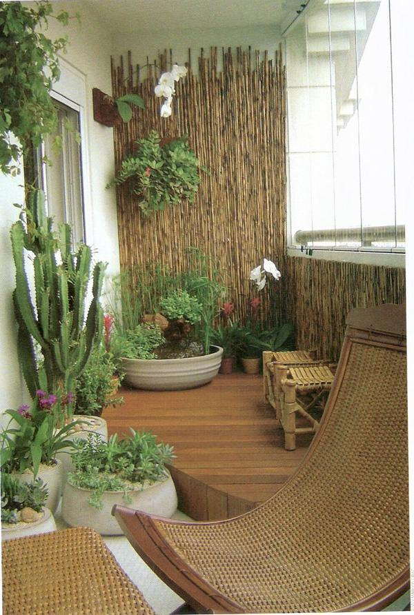55 apartment balcony decorating ideas art and design - Decoration petit balcon ...