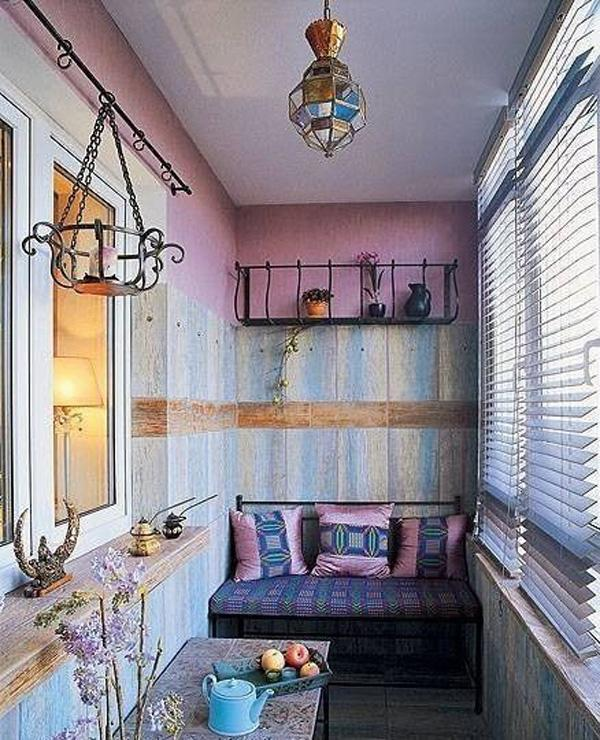 55 apartment balcony decorating ideas art and design - Decoration petite terrasse ...