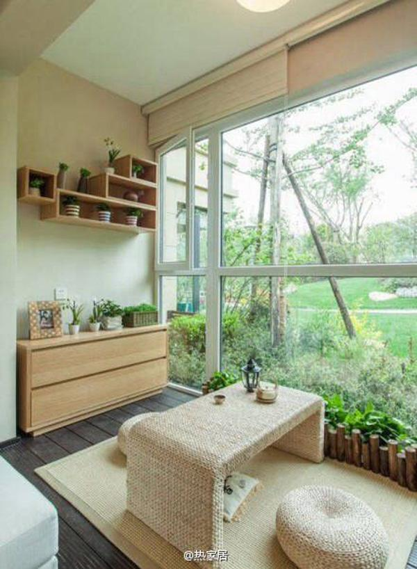 The Wall Shelves And Open Cupboards For The Potted Plants Are A Great  Addition To The ...