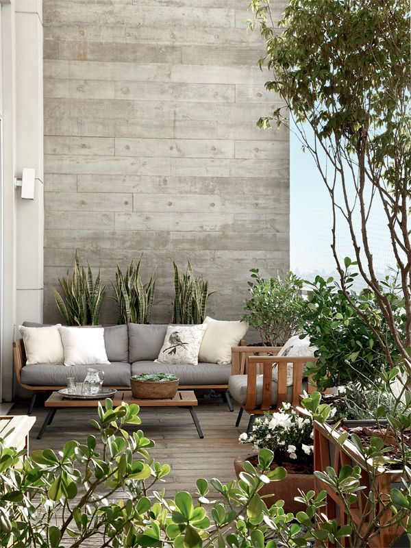 55 apartment balcony decorating ideas art and design - Terrazas de exterior ...