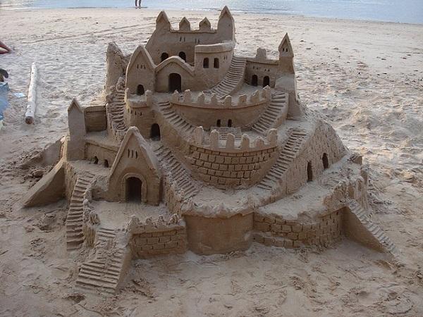 Castles-sand-castle